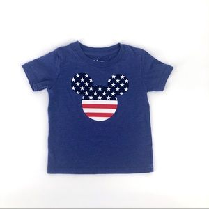 Disney Mickey Mouse stars & stripes 4th July tee